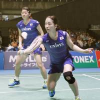 Partners Takahashi, Matsutomo secure spot in Yonex Open Japan doubles final