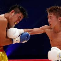 Inoue defends WBO superfly title with TKO
