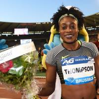 Thompson holds off rival Schippers