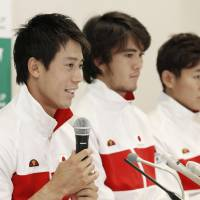 Nishikori eager to add Davis Cup success to Olympic bronze