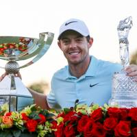 McIlroy walks away with two prizes