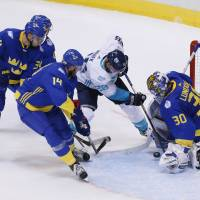Team Europe bounces Sweden from tourney