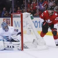 Canada lands first blow in World Cup finals