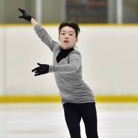 Rika Kihira, a 14-year-old from Nishinomiya, Hyogo Prefecture, just missed winning the title in her Junior Grand Prix debut in Ostrava, Czech Republic, on Saturday.