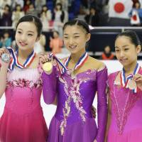 Sakamoto leads Japan sweep at Yokohama Junior Grand Prix