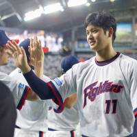 Nippon Ham's Shohei Otani should have a chance to make his mark on the final phase of the PL race when the Fighters meet the Hawks on Wednesday and Thursday. | KYODO