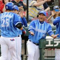 BayStars manager Alex Ramirez has guided the team to its first-ever berth in the Climax Series in his first season in the dugout. | KYODO