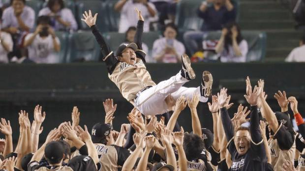 Otani fans 15 in shutout as Fighters clinch Pacific League pennant