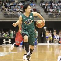 Yuta Tabuse will likely be the most recognizable face on the court when the B. League begins its first season. | KAZ NAGATSUKA