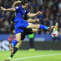 Okazaki bags brace in Leicester City's extra-time loss to Chelsea