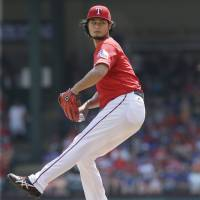 Darvish struggles as Rangers fall against Astros