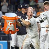 Rookie Austin lifts Yanks with walk-off shot