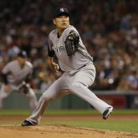 Tanaka misses milestone as Red Sox overturn Yanks