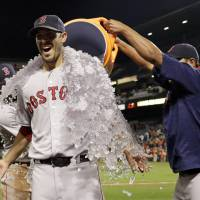 Porcello holds down Orioles for 21st win