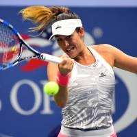 Garbine Muguruza lost to Latvian world No. 35 Anastasija Sevatsova in the second round of the U.S. Open earlier this month and could face the same opponent in Tokyo this week. | USA TODAY / VIA REUTERS