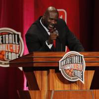 Shaq, Iverson headline Basketball Hall of Fame class