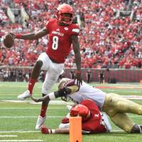Jackson stars as Louisville routs Florida State
