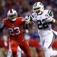 Forte's touchdown trifecta too much for Bills to overcome