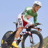 Iranian cyclist dies after crash in Paralympics road race