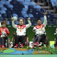 Japan boccia squad claims silver medal in Rio