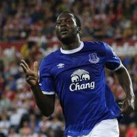 Everton's Lukaku takes 11 minutes to notch hat trick against Sunderland