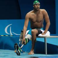 'Shark Boy' making splash in, out of Paralympic pool