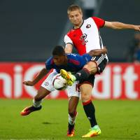 Feyenoord takes down Man United