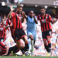 City beats Bournemouth to continue perfect start to season
