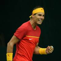 Nadal helps Spain get back to Davis Cup elite
