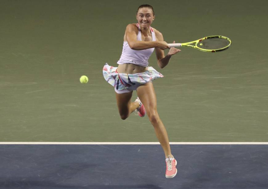 Sasnovich stuns Pliskova to reach Pan Pacific ...