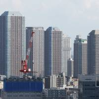 Sales of new condominiums in Tokyo are at levels last seen when the property bubble collapsed in the 1990s. | BLOOMBERG