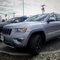 The 2015 Jeep Grand Cherokee is exhibited on a car dealership in New Jersey in 2015. | REUTERS