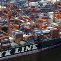 Japan's top three shippers to merge container businesses into world's No. 6