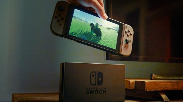 Nintendo releases video of new game crossover product Switch
