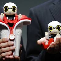 Toyota pitches tiny talking robot as companion for lonely people