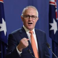 Support for Australian PM falls, sets scene for potential leadership tensions