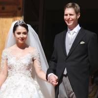 Grandson of last Albanian king marries in family's first wedding at home since 1938