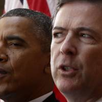 FBI chief dragged center stage in U.S. election show