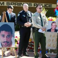 Man collared after gunning down two Palm Springs police officers responding to dispute