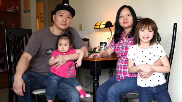 Adopted, flown to U.S. at 3, then abused and abandoned, South Korean, 37, faces boot