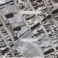U.N. releases satellite images of damage in Syria's Aleppo
