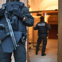 Teen girl stands trial for 'ISIS' police stabbing in Germany