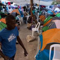 Thousands of Haitians stranded at Mexico border, hoping to enter U.S.