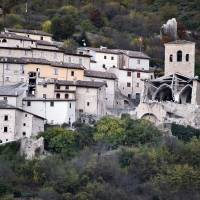 In Italy, another powerful quake hits, but spares lives; considerable structural damage done