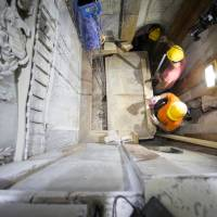Ancient, hidden layers under marble slabs found at site of Jesus tomb