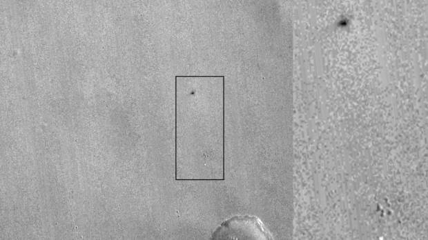 Photos show European Mars probe crashed, may have exploded