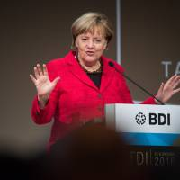 Merkel warns Britain on Brexit terms