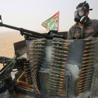 Islamic State's deadly booby-traps, defenses make for slow-going in Mosul offensive