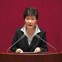 South Korean leader proposes revising Constitution to let president serve more than one term