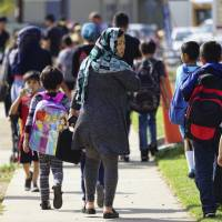 Schools adapt as most Syrian refugees reaching U.S. are traumatized kids